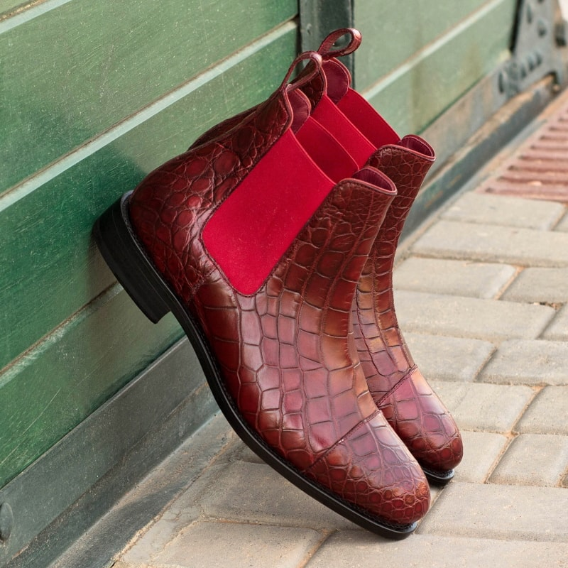 Alligator Chelsea Boots