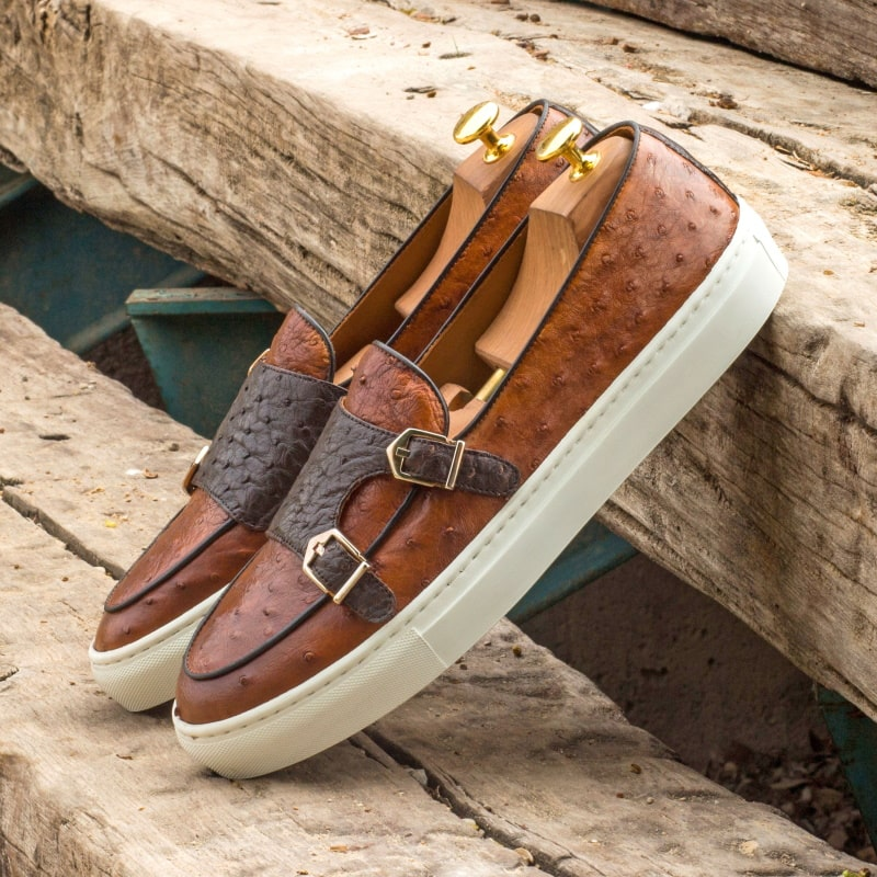 Ostrich Monk Sneakers